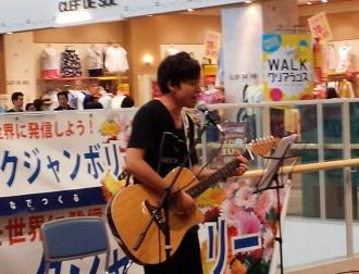 軽音楽部:浜名湖フォークジャンボリーPRライブに出演しました