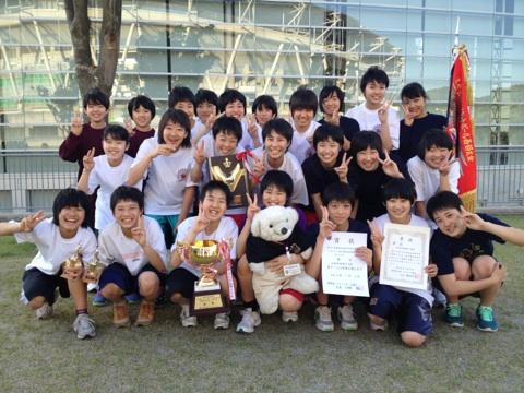 中学女子バスケット! 「会長杯西部大会」の結果
