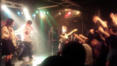 軽音楽部:浜松FORCEとYAMAHAで演奏しました