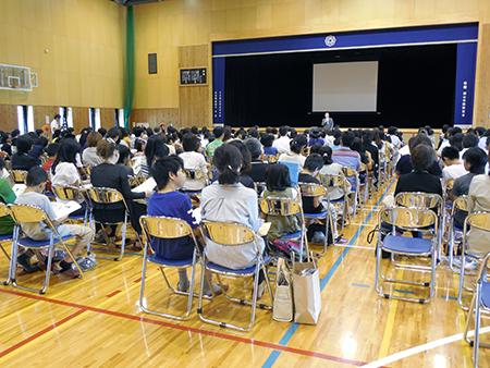 6/27(土)小学生対象 第1回中学校オープンキャンパスを行います
