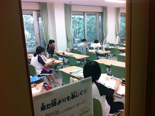 スーパー文理コース:高3・高2が勉強合宿を行いました