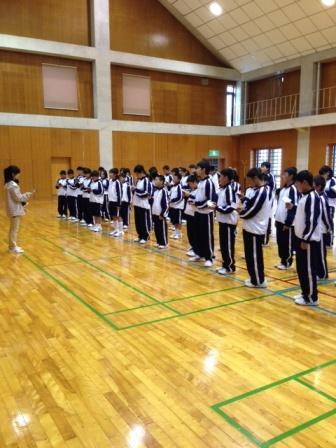 【中学】今年も「合宿」しました(2014/4/24 16:00更新)