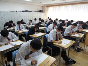漢字検定を実施しました