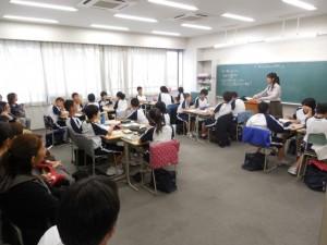中学:平成26年度 第2回公開授業を実施しました