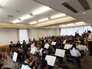 ♪音楽部〜合同練習会を行いました〜
