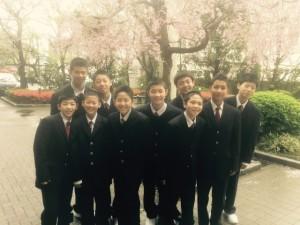 中学男子バスケット 祝!7期生入学