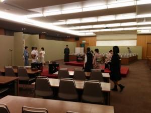 茶道部:「茶道裏千家淡交会 第49回 東海地区大会」に参加しました