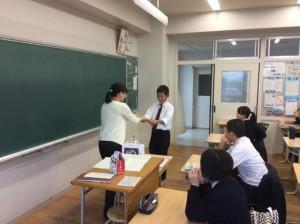 中学2年生:漢字検定前朝学習班対抗選手権