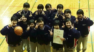高校女子バスケット! 新人戦県大会の結果