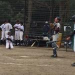 少年野球大会1回戦