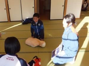 AED心肺蘇生法講習会を行いました