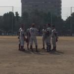 少年野球大会二回戦