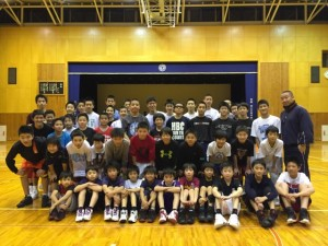 中学男子バスケット 春チャレンジ報告