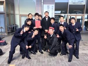 男子バスケット 2期生卒業!