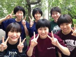 高校女子バスケット! 「祝 卒業&入学の春です」