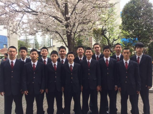 高校男子バスケット部 5期生入学しました!