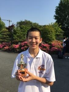 中学男子バスケット 県会長杯西部地区予選の結果(最終日)