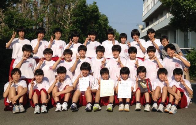 中学女子バスケット! 会長杯西部大会の最終結果