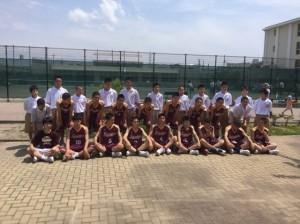 中学男子バスケット 県会長杯西部地区予選の結果(1日目・2日目)