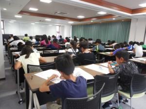 9月17日(土)小学生対象オープンテスト参加のお礼