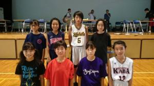 中学女子バスケット! 「夏の活動報告?」