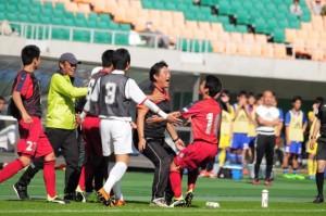 第95回全国高校サッカー選手権大会静岡県大会 決勝戦進出決定