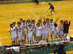 第47回高等学校全国選抜優勝大会静岡県予選 女子バスケットボール部初優勝