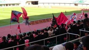 クラフト部 〜サッカー応援の旗作り〜