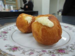 チーズボールドーナツを作りました。