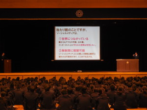 生徒総会・防犯講座を実施しました