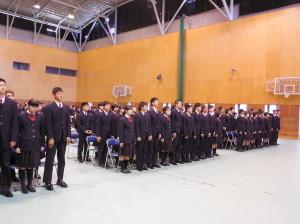 第19回浜松開誠館中学校卒業証書授与式を挙行しました