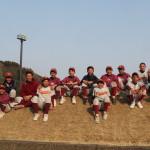 第34回全日本少年(中学)時之栖トーナメント軟式野球浜松ブロック大会優勝報告