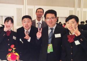 華道部: 県・浙江省友好提携35周年記念式典を彩る