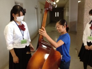 いろんな楽器の体験をしましたぁ