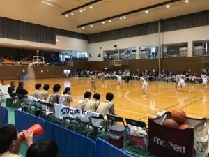 【高校総体・速報】女子バスケ  初戦を突破!