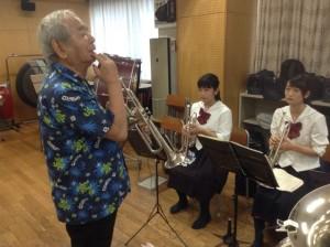 音楽総監督の遠山先生の熱いレッスン!