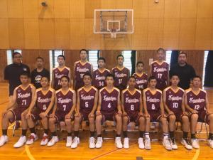 中学男子バスケット 東海大会の結果