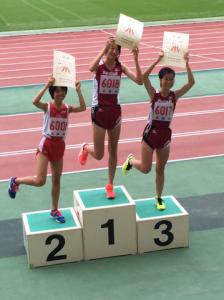 1500m表彰県新人