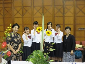 華道部:「Ikenobo 花の甲子園東海地区大会」にて3位入賞!
