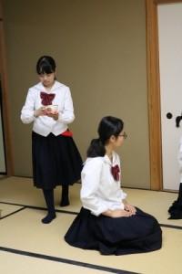 茶道部 平成29年度第25回学校茶道合同茶会のご報告
