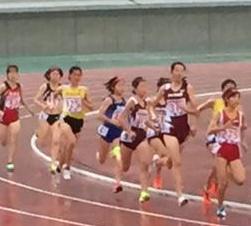 東海高校新人陸上競技大会(1500m3選手決勝進出・入賞)