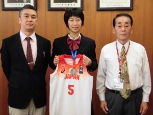 高校女子バスケット! 「U-16アジア大会 準優勝」報告