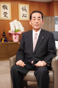 ?林一文理事長が平成29年秋の叙勲を受章しました