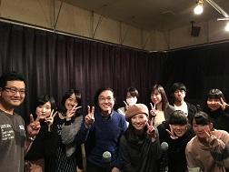 軽音楽部:第10回東門会@KJホール