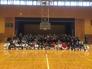 高校男子バスケット「新人戦西部地区予選」結果報告 &新年OB会報告
