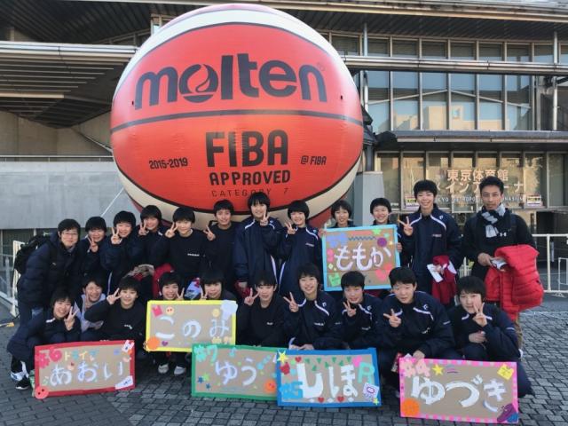 中学女子バスケット! 練習試合の結果