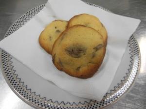 クッキング部 チョコクッキーを作りました。