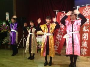 理事長叙勲祝賀会での演奏
