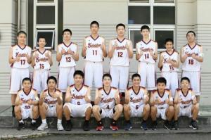 中学男子バスケット 会長杯の結果報告