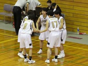 高校女子バスケット! 「総体西部大会16年連続優勝」